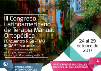 III Congreso Latinoamericano de Terapia Manual Ortopédica