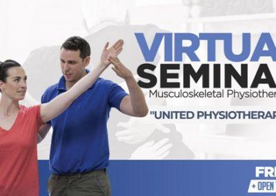 Seminario Virtual: Fisioterapeutas Unidos